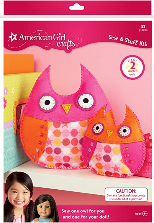 Mosaic kit READY to ship Owl decor girl room DIY craft kits for adults Homemade ornaments Owl Stained glass