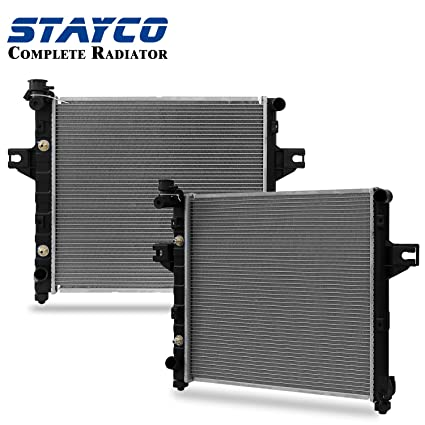 Marvelous Radiator For Jeep 1999 2000 2001 2002 2003 2004 Grand Cherokee 4.0L L6  STAYCO