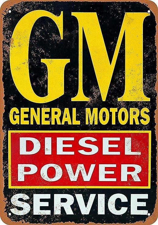 Diesel Power Cartel de Pared de Chapa Decoración de Arte de ...