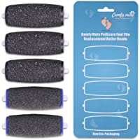 3 Extra Coarse & 2 Regular Coarse Replacement Roller for Amope Electronic Foot File Refill with Diamond Crystals
