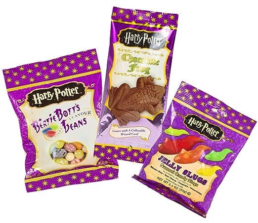 Jelly Belly Bertie Botts Bohnen 54 G Und Harry Potter Schokoladen
