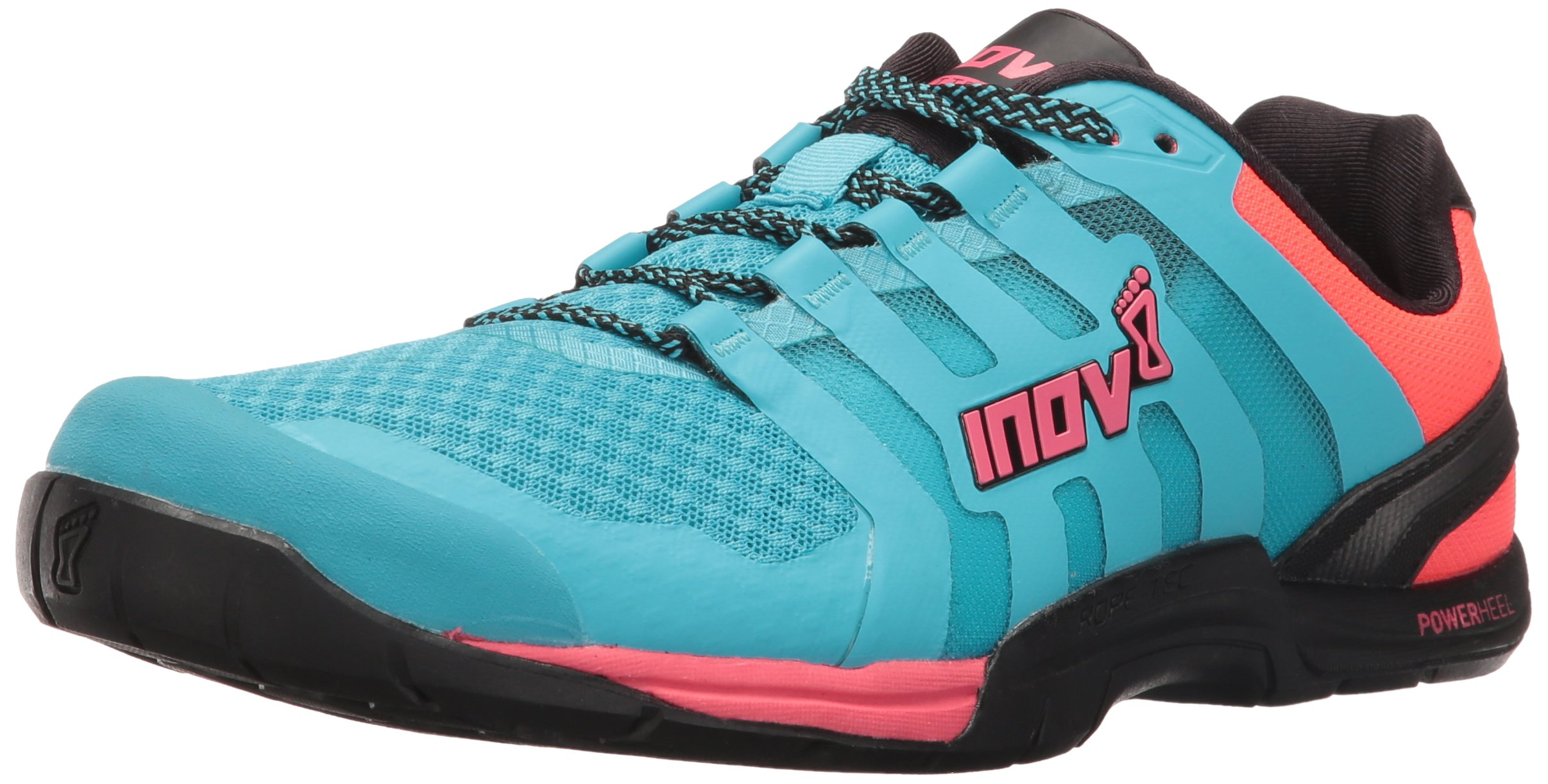 Inov-8 Women's F-LITE 235 V2 Cross-Trainer Shoe, Blue/Black/Neon Pink, 7 E US by Inov-8