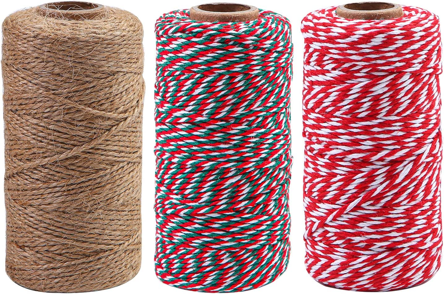100m Cotton Thread Sewing Bakers Twine Colourful Rope Packaging Supplies DIY UK