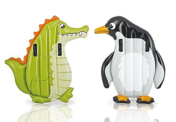Intex - Animales hinchables, coco-pingüino (58151) , Modelos/colores Surtidos, 1 Unidad: Amazon.es: Juguetes y juegos