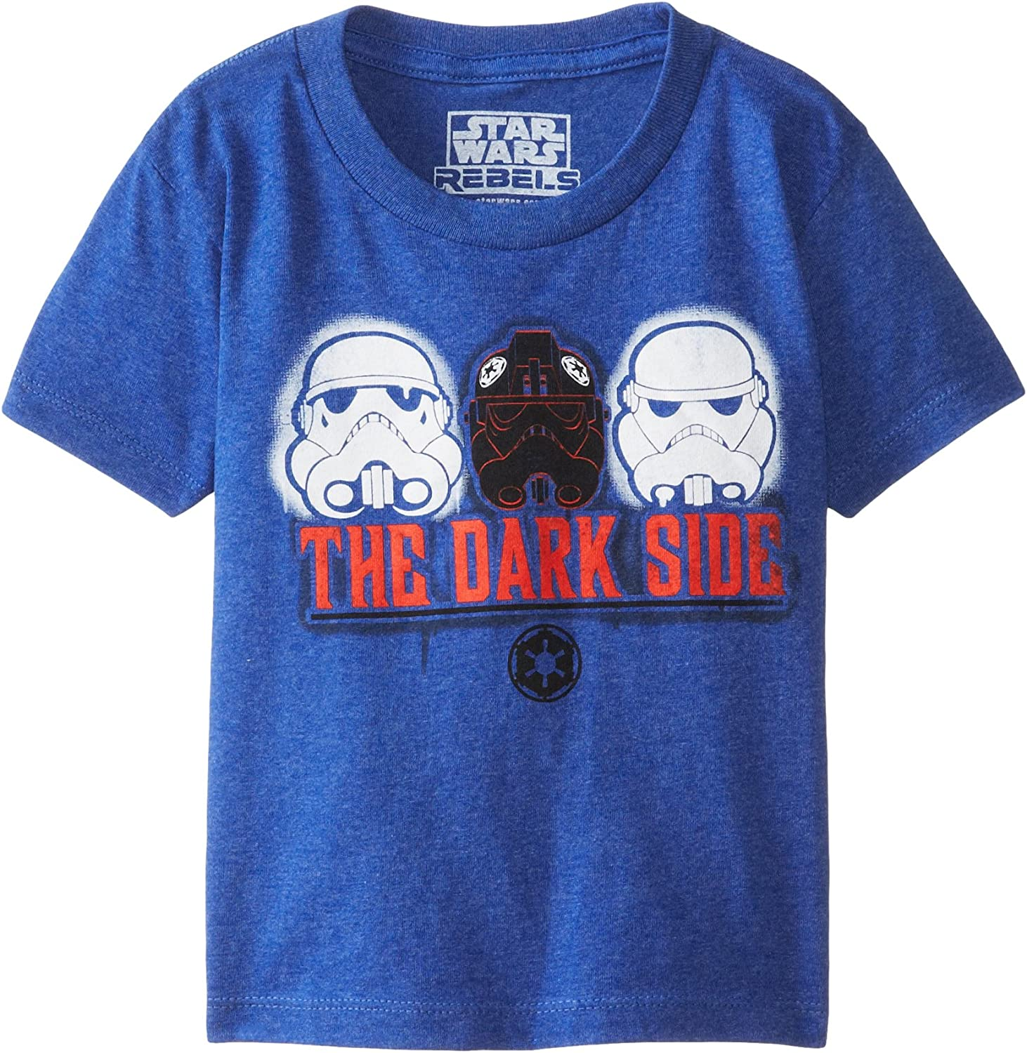 Boys Official STAR WARS REBELS Top SHORT Sleeved T Shirt  Age 4-10 Years