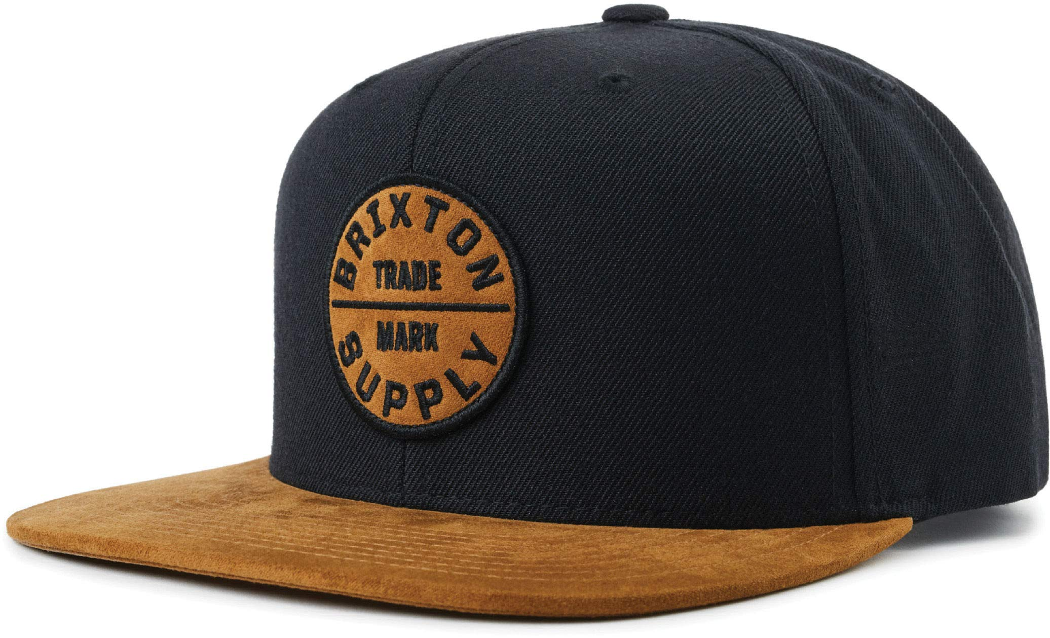 Brixton Men's Oath III Snapback Cap Copper/Black One Size