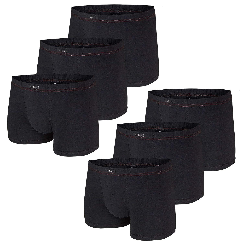 Größe XL // 7 Boxer Pants schwarz 3er Pack Götzburg