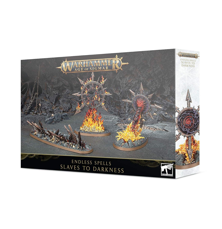 Games Workshop Warhammer Age of Sigmar: Endless Spells: Slaves to Darkness