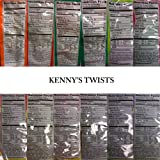 Kenny's Juicy Twists - Dr. Pepper and A&W Root Beer - Variety 2 Pack - Nt. Weight 10 oz - Fresh Product