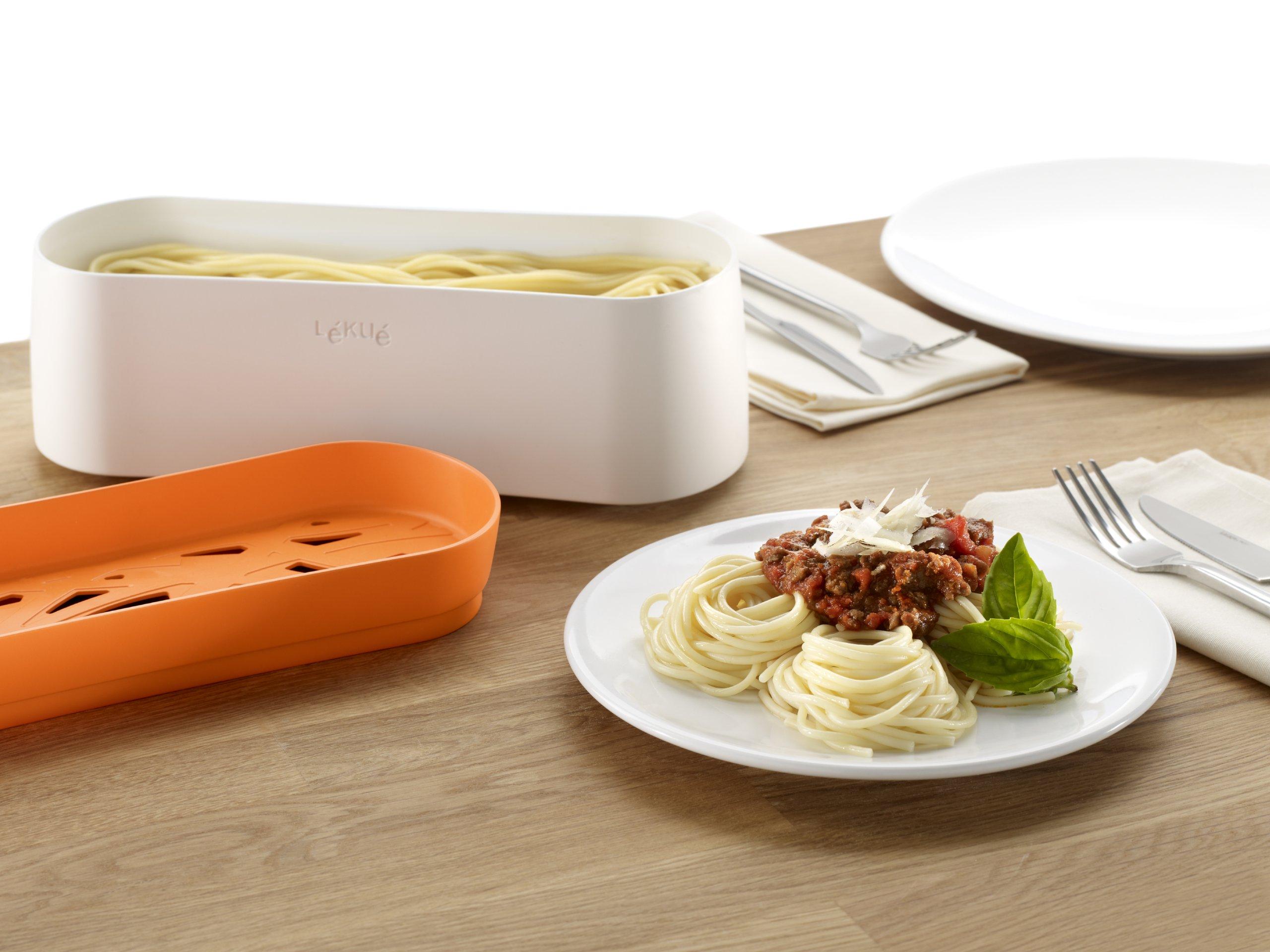 Lekue Pasta Cooker, Model # 0200702N07M017, Orange by Lekue (Image #6)