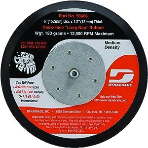 Dynabrade 50606 Non-Vacuum Disc Pad, 6-Inch Diameter