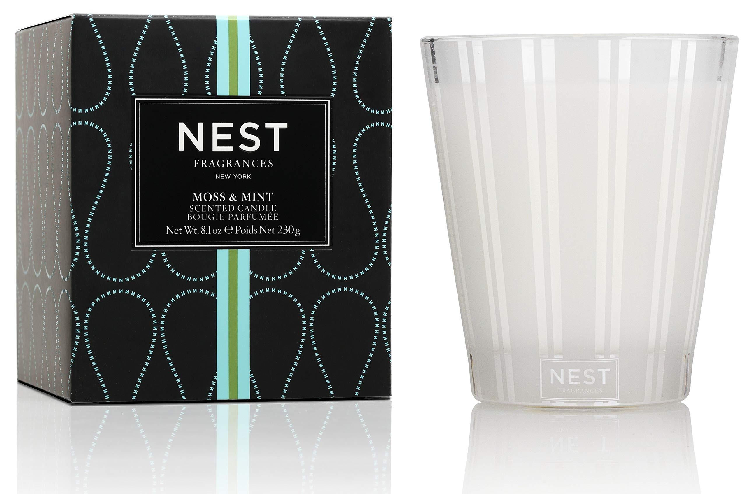 NEST Fragrances Classic Candle- Moss & Mint, 8.1 oz