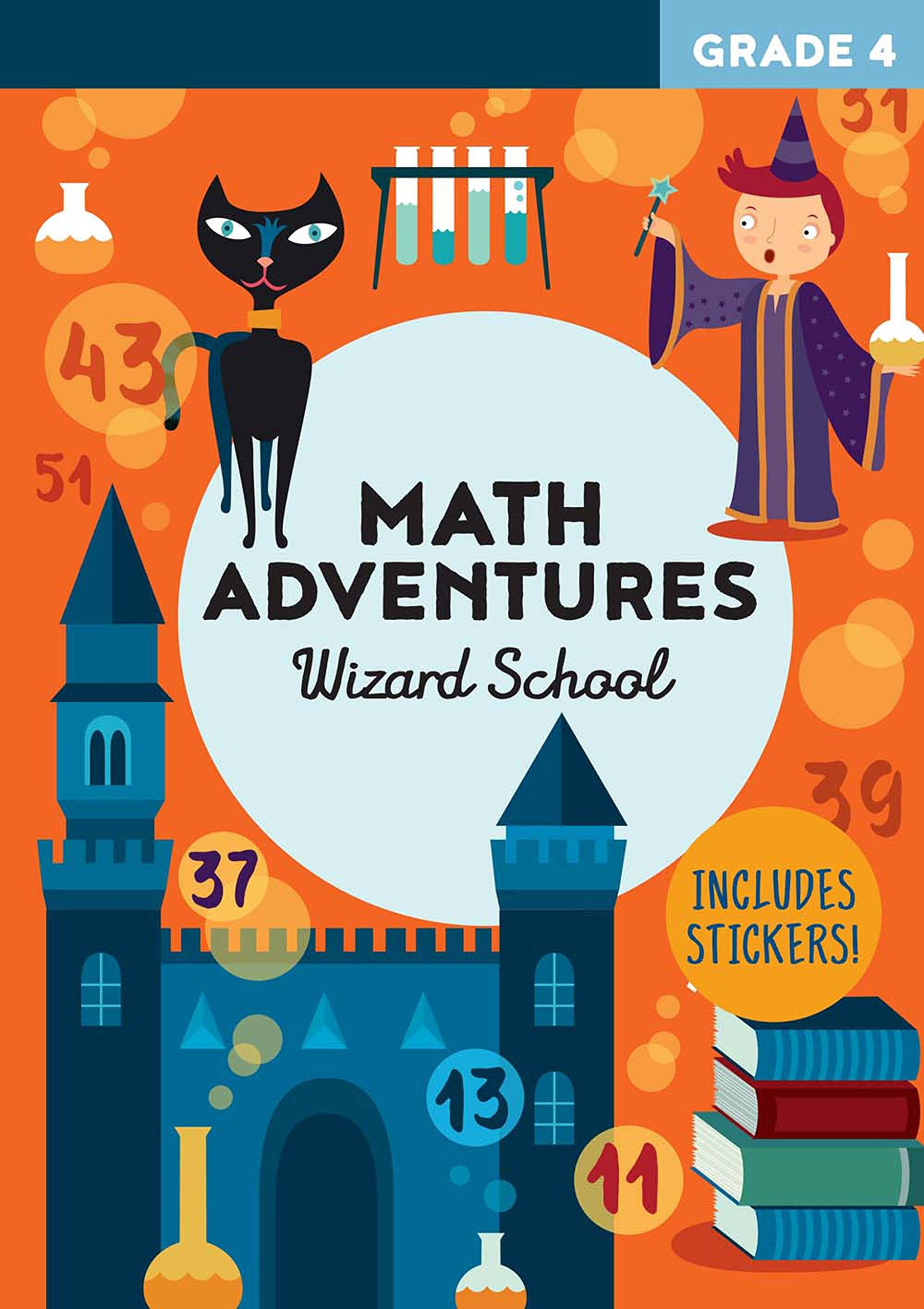 Download Math Adventures Grade 4: Wizard School PDF