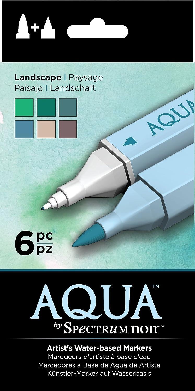Spectrum Noir SPEC-AQ6-LAN Watercolor Marker Set