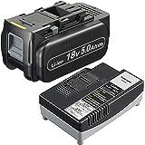 パナソニック(Panasonic) 18V/5.0Ah電池パック・充電器セット EZ9L54ST 【純正品・純正梱包箱】