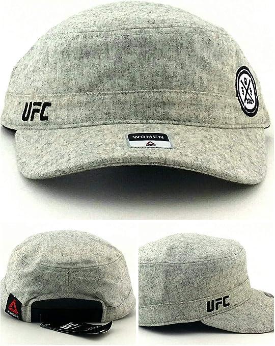 Reebok UFC MMA - Gorra Ajustable para Mujer, Color Gris: Amazon.es ...