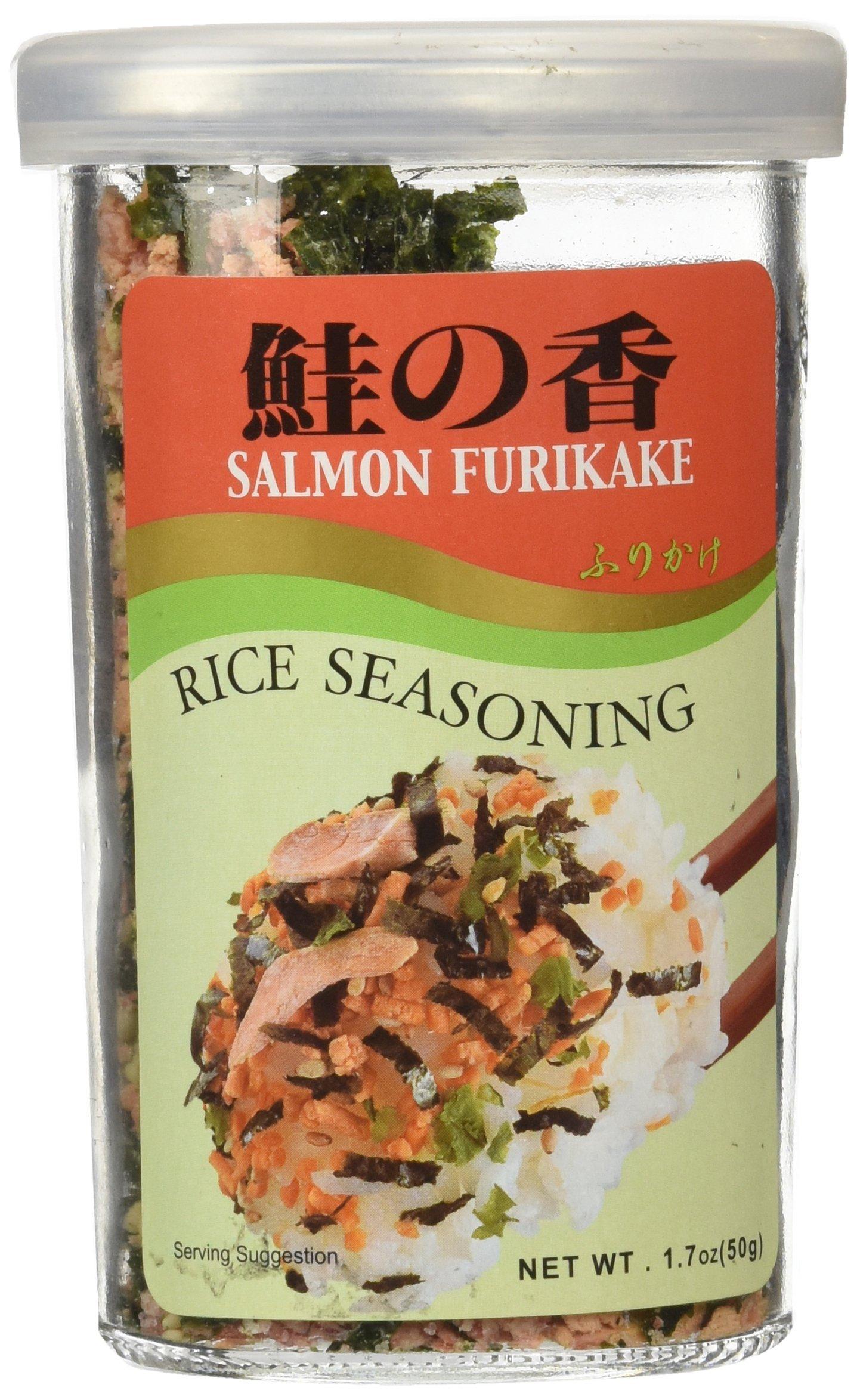 JFC Salmon Fumi Furikake Rice Seasoning, 1.7 Ounce