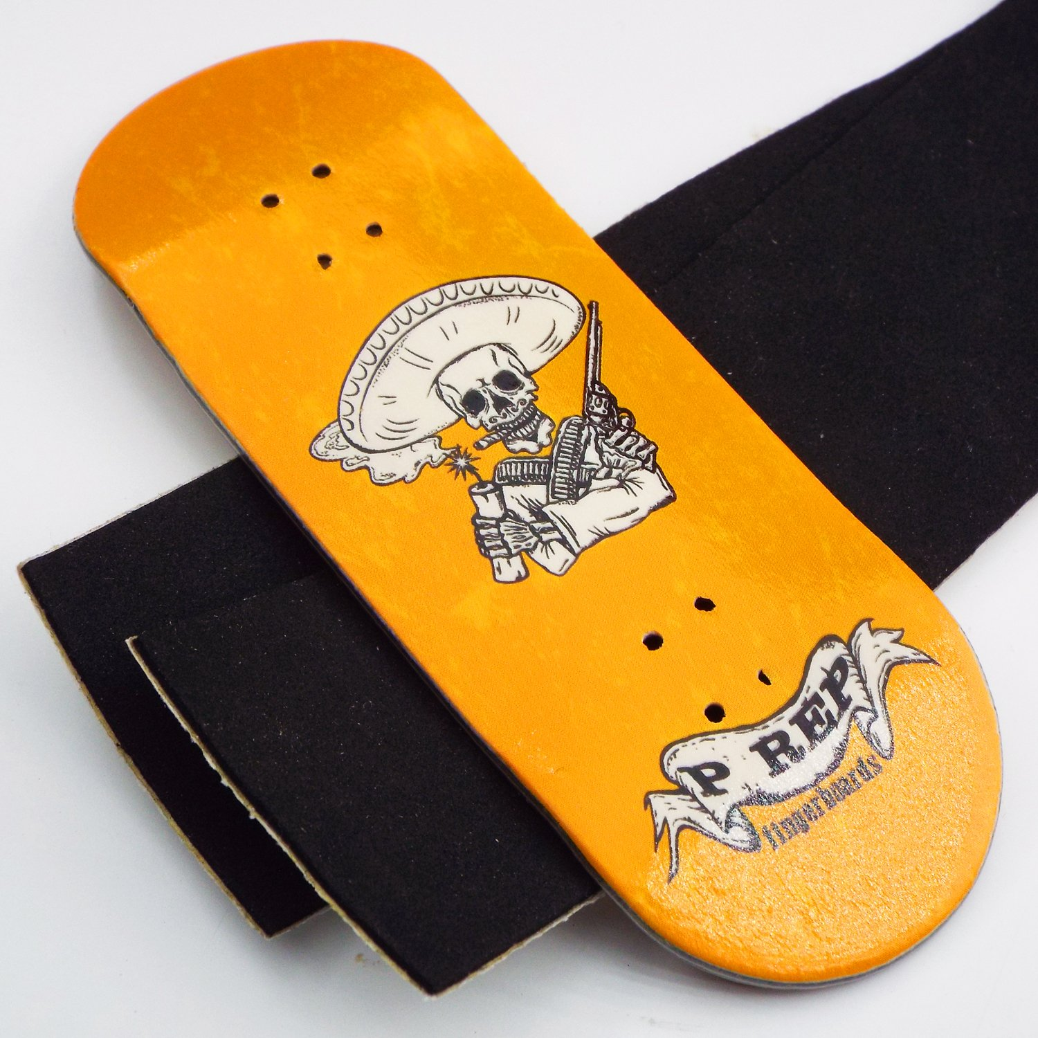 P-REP TUNED Complete Wooden Fingerboard 34mm x 100mm - Bandito by Peoples Republic (Image #3)