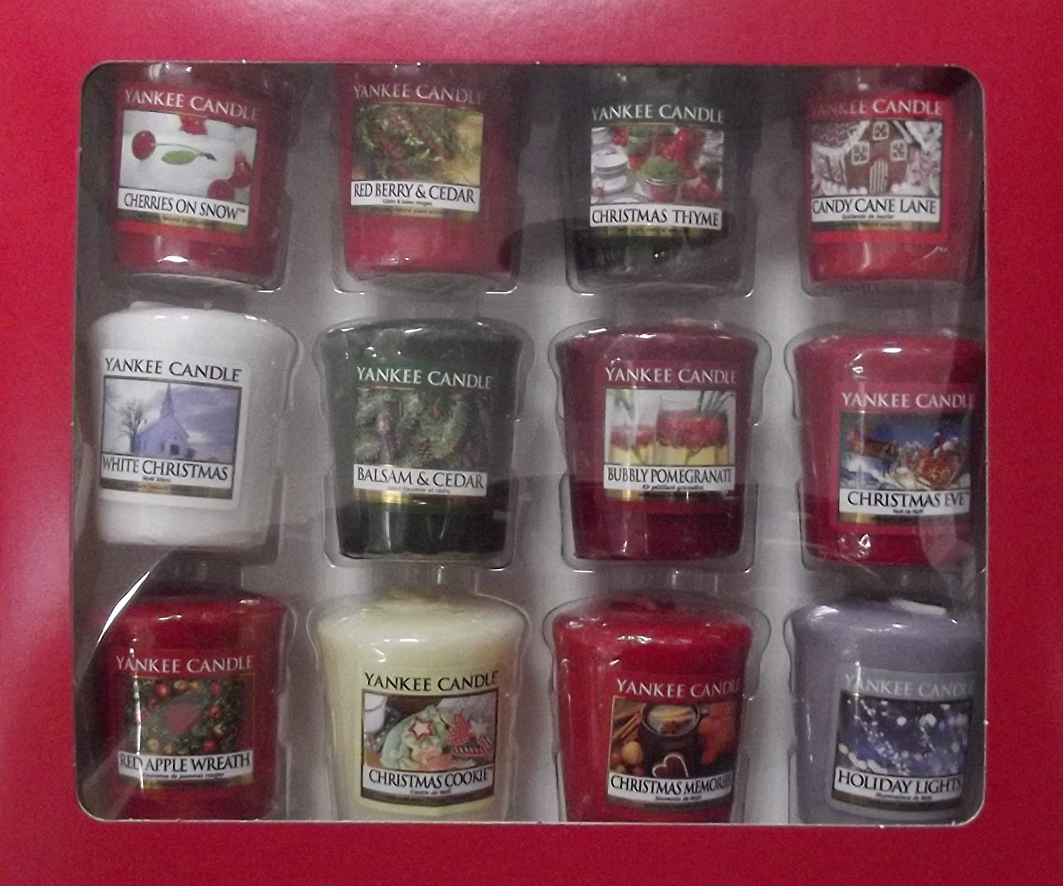 yankee candle Set 12 Candele 12 Votive Candle Collection