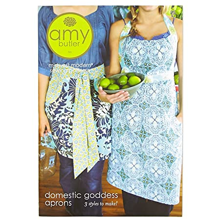 Amy Butler Domestic Goddess Apron Midwest Modern Sewing Pattern ...