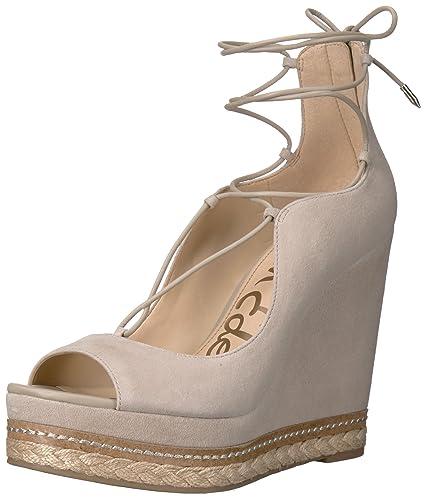 6a7069e3a1e0 Amazon.com  Sam Edelman Women s Harriet-1 Espadrille Wedge Sandal  Shoes