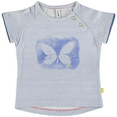 0fe54fa5566e8 Babyface - T-Shirt - Col Rond - Fille Bleu Bleu Ciel 104 cm  Amazon.fr   Vêtements et accessoires