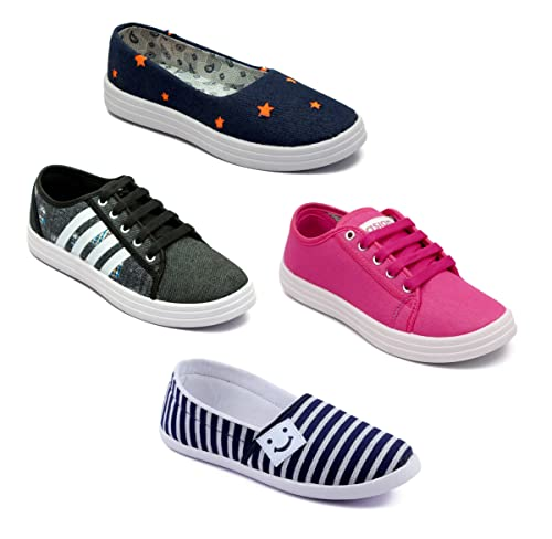 classic fit los angeles wholesale ASIAN Multicolor Casual Shoes Combo for Women UK-8: Amazon.in ...
