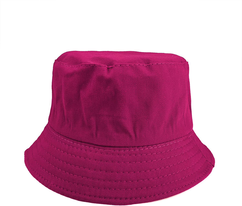 Opromo Kids Cotton Twill Bucket Hat Summer Outdoor Sun Hat Sun Protective Hat-Camo-1 pcs