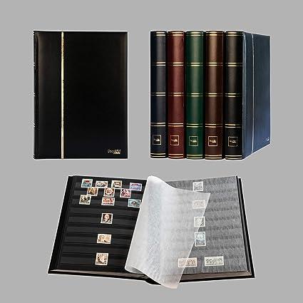 Clasificador sellos 60 paginas negro Negro colore