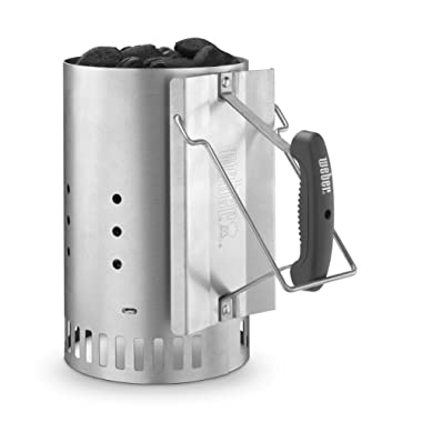 Weber Stephen Company 7429 Rapid Fire Chimney Starter, Silver