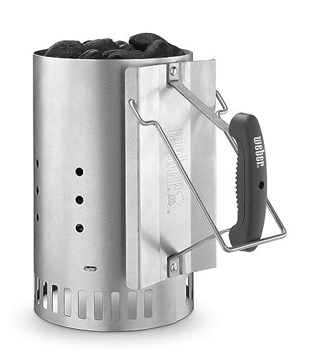 Amazoncom Weber Stephen Company 7429 Rapid Fire Chimney Starter