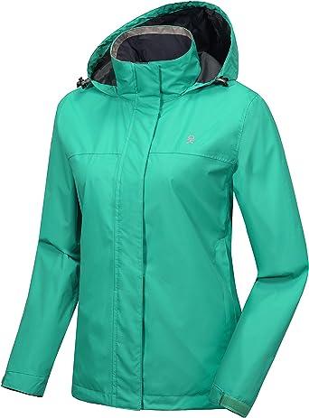 Little Donkey Andy Women's Waterproof Rain Jacket