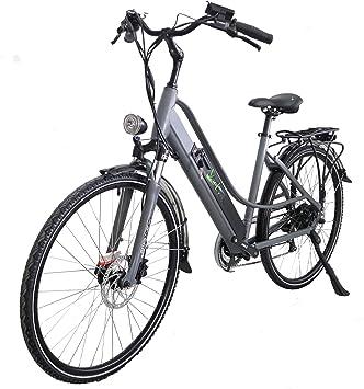 Verlyn Bicicleta eléctrica de Ciudad. Batería de 13 AH/500 W. Frenos de Disco hidráulicos. Ruedas