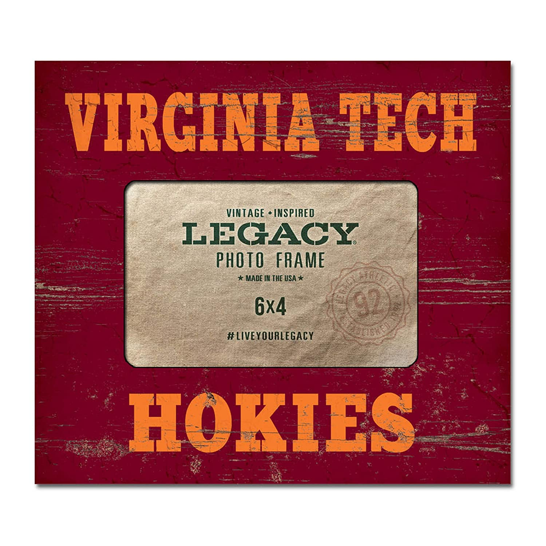 Center 8x94 x 6 Picture Frame LEAGUE/&CO NCAA Virginia Tech Hokies 4 x 6 Picture Frame Center 8x9 One Size Custom