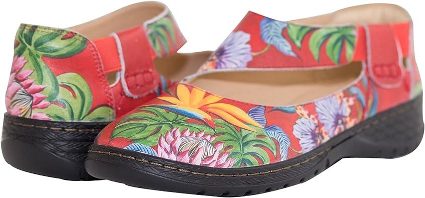 Anuschka Women's Leather Mary Jane Shoe