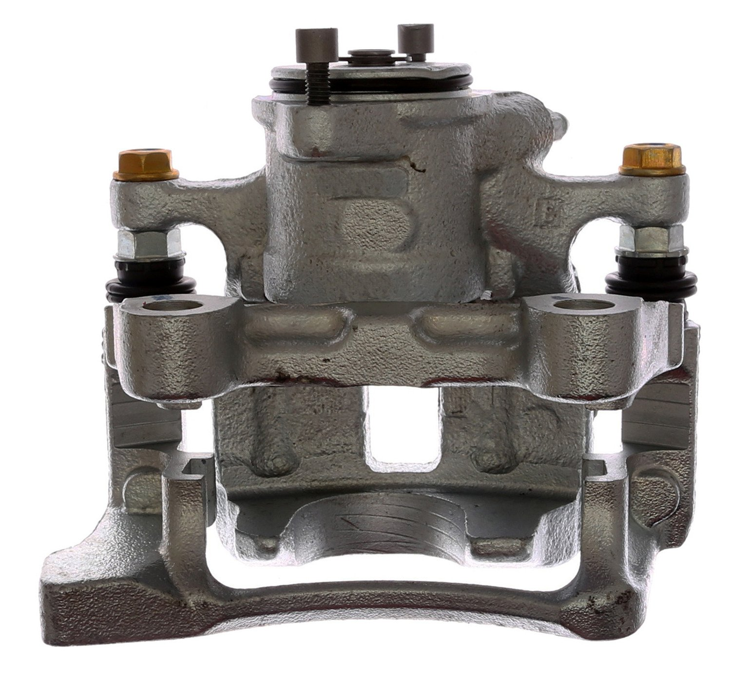 Remanufactured Loaded Coated ACDelco 18R12702C Professional Rear Passenger Side Disc Brake Caliper Assembly with Pads