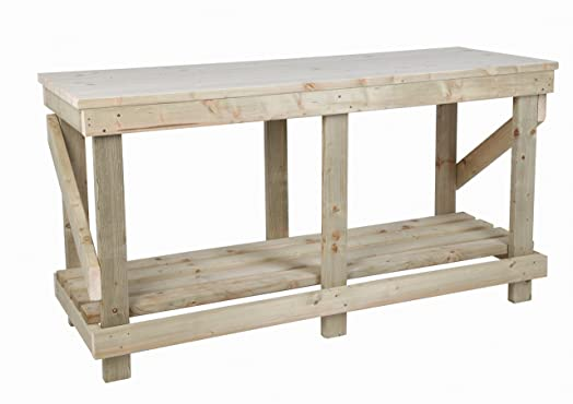 6ft (1.8m) Heavy Duty Work Bench   Strong U0026 Sturdy