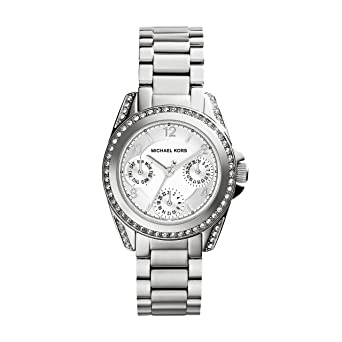 a7a3a89c3a6a Amazon.com  Michael Kors Women s MK5612 Blair Analog Display Analog Quartz  Silver Watch  Michael Kors  Watches