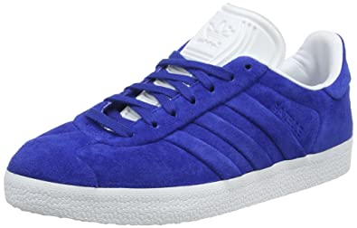 9e256293d2e adidas Men's Gazelle Stitch and Turn Fitness Shoes, Blue (Reauni/Ftwbla 000)