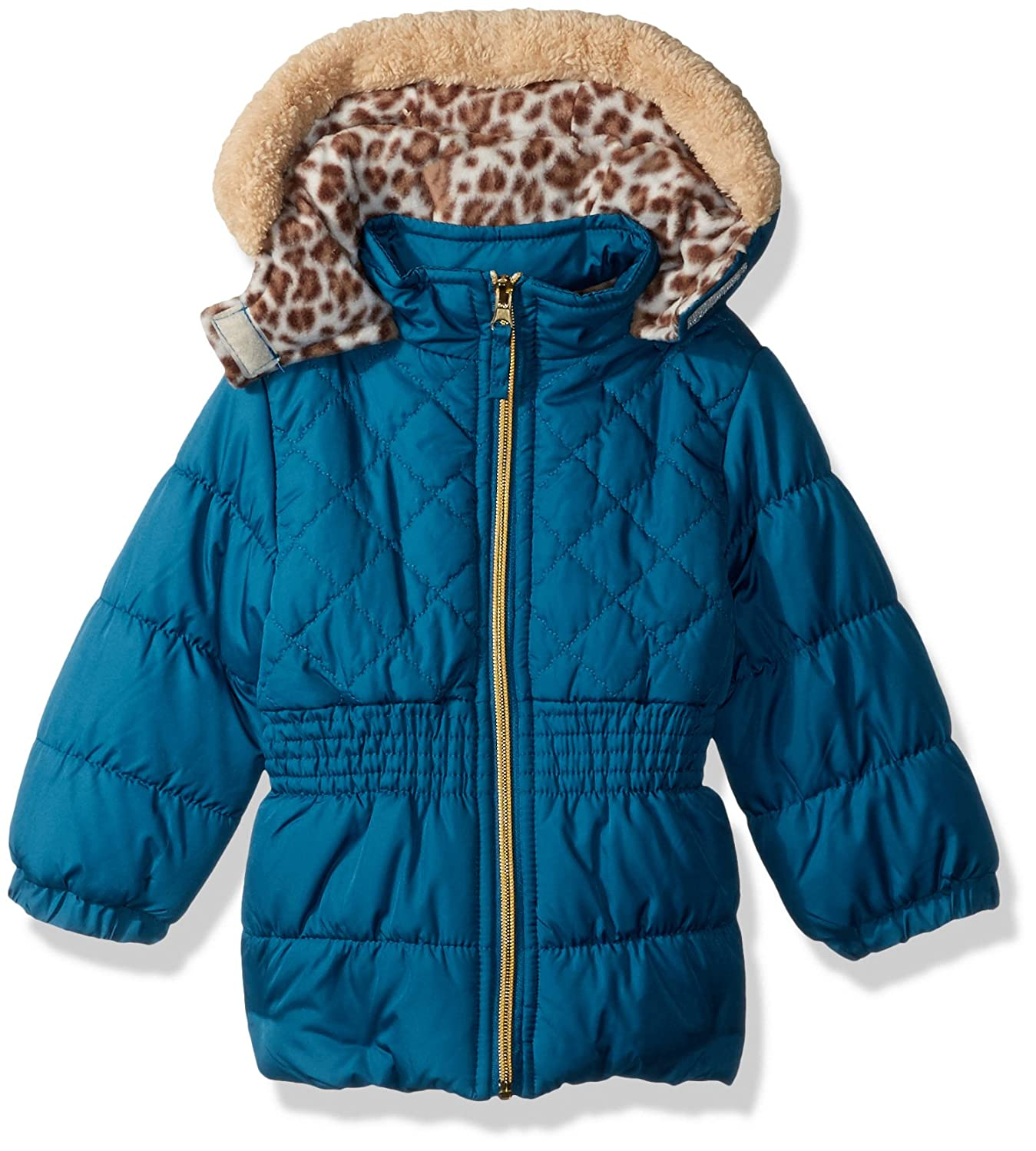 Pink Platinum Baby Girls Quilted Puffer 94494