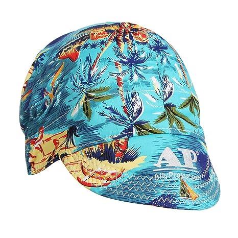 Gorra de soldadura ajustable, Sorliva - Gorro protector bufanda soldador retardante de algodón casco 55 a 61 cm: Amazon.es: Hogar