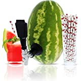 Party On Tap Watermelon Tap Kit - Keg Spout, Coring Kit, Straws, Instructions Included - Great For Dispensing Juice…