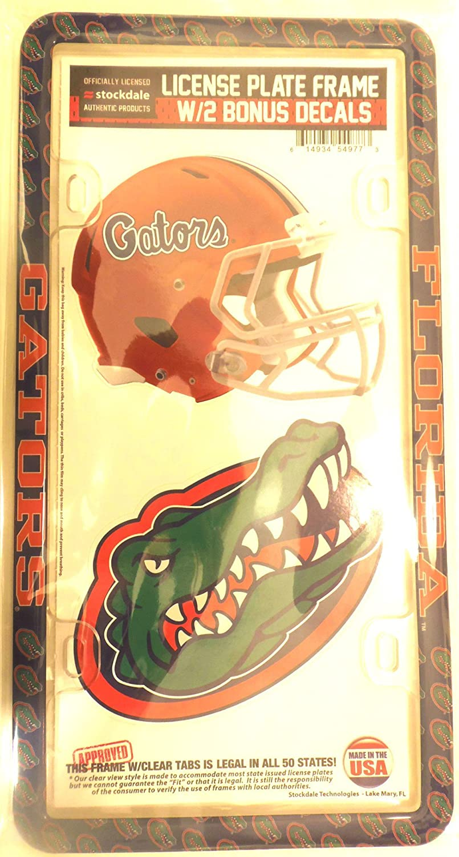 University of S54977 License Plate Thin Frame Plastic Florida