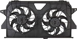 Spectra Premium CF13012 Dual Radiator Fan Assembly