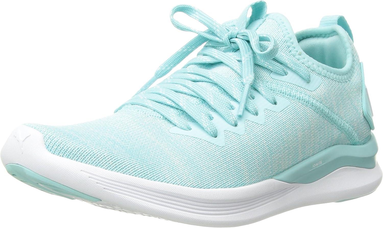 PUMA Women's Ignite Flash Evoknit Wn Sneaker: Puma: Amazon
