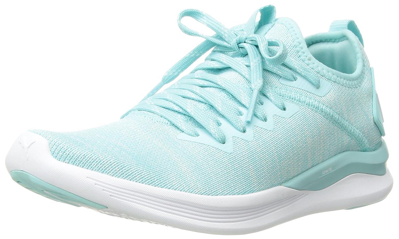 PUMA Women's Ignite Flash Evoknit Wn Sneaker B0752G477D 9.5 B(M) US|Island Paradise-whisper White-puma White