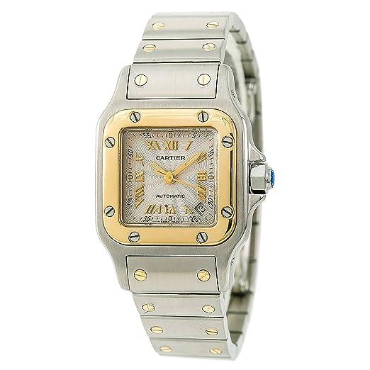 Cartier Santos Octagon 2423 - Reloj de Pulsera Hembra automático, autoviento: Cartier: Amazon.es: Relojes