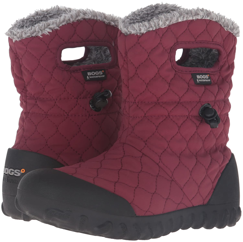Bogs Snow Women's B-Moc Quilt Puff Snow Bogs Boot B01BVGEMR8 9 B(M) US|Burgundy c2b6ea