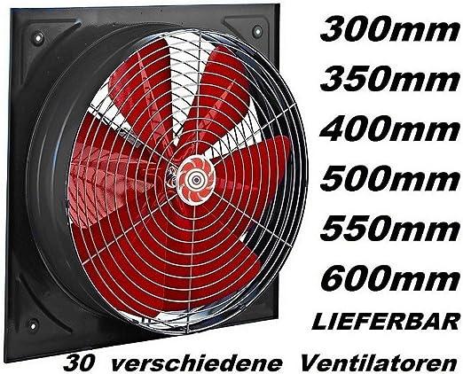 400mm Ventilador industrial Ventilación Extractor Ventiladores ...