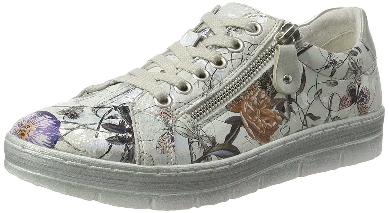 Remonte Damen D5800 D5800 Damen Sneaker Mehrfarbig (OffWeiß-metallic/Silver/90) 877ed8